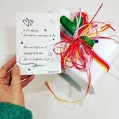 Voor jou. Tegen de kou. Omdat ik van je hou.  #valentijnscadeautje #knuffelsvanuitonskot #moutonaalst
